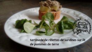 Recette Tartinade de rillettes de sardines (cookéo)