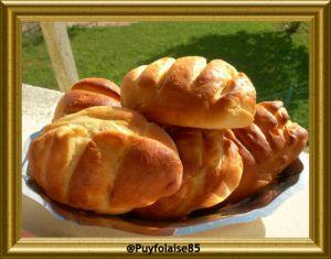 Recette Petits pains viennois à la machine à pain