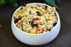 Recette Salade de riz à la méridionale