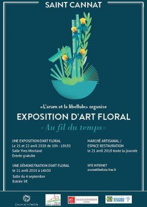 Recette Exposition d'art floral à St Cannat