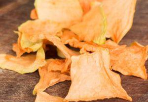 Recette Chips de cantaloup