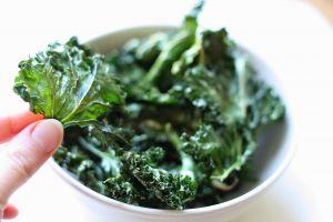Recette Chips de kale, au four [vegan]