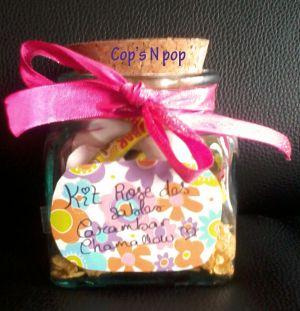 Recette Cadeau gourmand: kit à rose des sables carambar et chamallow