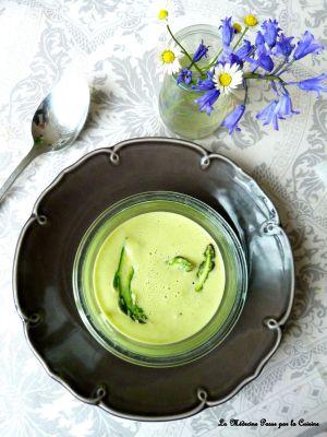 Recette Crème d'asperges vertes toute simple