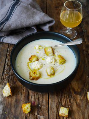 Recette Soupe de chou-fleur crémeuse au lait