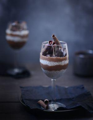 Recette Crème double chocolat aux graines de chia