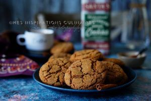 Recette Ginger snaps, biscuits au gingembre