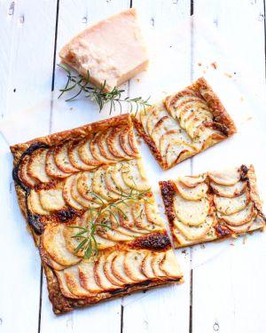 Recette Ma tarte fine aux pommes de terre