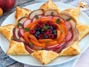 Recette Tarte étoile aux fruits
