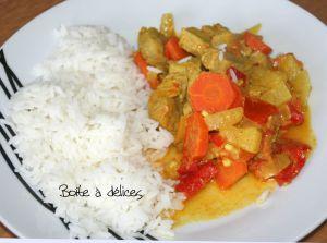 Recette Filet mignon de porc au curry