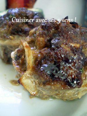 Recette Minis pains de viande à l'oriental