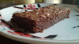 Recette Brownie-Fudge à la fève tonka