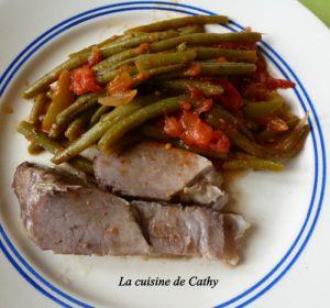 Recette Côtes de porc confit