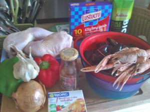 Recette Il n'est pas encore trop tard pour cuisiner... la paella au poulet