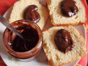 Recette Pâte à tartiner chocolat noisettes