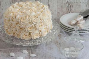 Recette Rose cake, le plus simple des cakes design