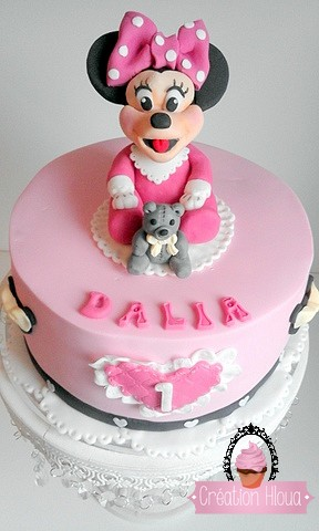 Recette Gâteau baby minnie