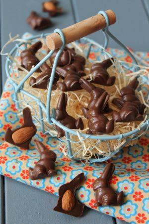 Recette Minis Lapins en Chocolat