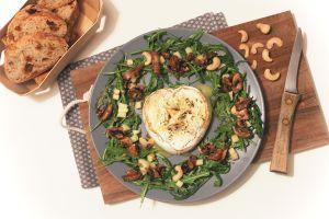 Recette Cœurs de Neufchâtel rôtis à l'huile de truffe