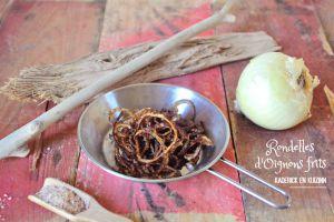 Recette Oignons frits en rondelles à l'huile d'olive