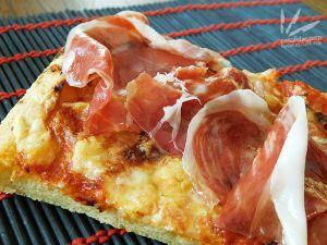 Recette Pizza au Manchego et jambon Iberico (Pata Negra)