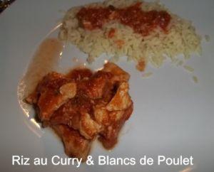 Recette Tour en Cuisine #11 : Riz au Curry & Blancs de Poulet