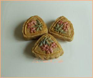 Recette Mooncakes aux dattes et sésame