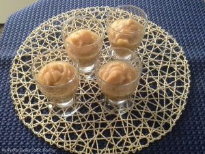 Recette Mousseline de compote au coing et aux pommes et agrumes Ig bas
