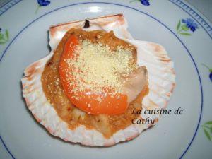Recette Coquilles Saint-Jacques à la cornouaillaise