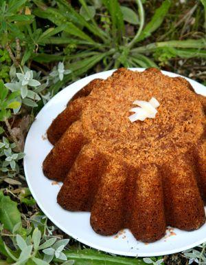 Recette Gâteau au yaourt à la crème de coco sucrée