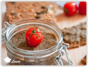 Recette Tartinade de lentilles vertes (vegan)