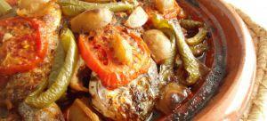 Recette Tajine de poisson aux légumes