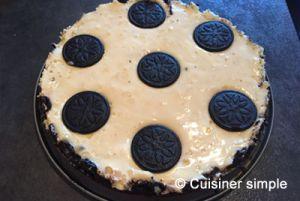 Recette Cheesecake Oreo