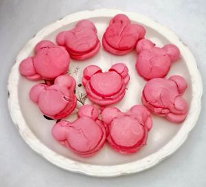 Recette Macarons Minnie Mouse
