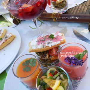 Recette Gaspacho fraise pastèque