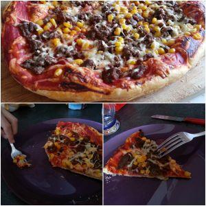 Recette Pizza burger