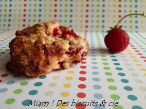 Recette Biscuits aux fraises