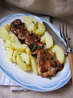 Recette Filet mignon de porc au poivre