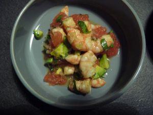 Recette Salade thaie