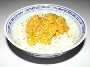 Recette Escalope de poulet au lait de coco à l'indienne