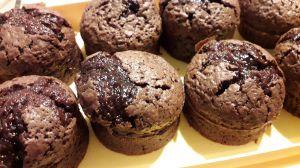 Recette Muffin tout chocolat de cyril lignac