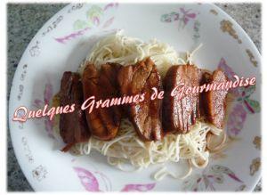 Recette Filet mignon de porc laqué