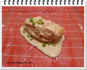 Recette Blancs de poulet au boursin cuisine