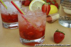 Recette Caïpiroska fraise