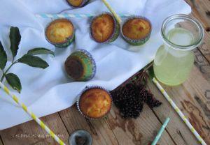 Recette Petits moelleux baies de sureau  & citron