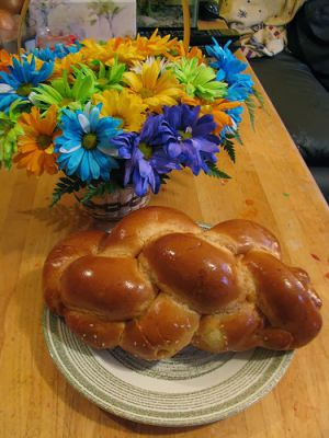 Recette Challah, un pain brioché tressé sans beurre (cuisine juive)