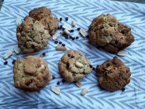 Recette Cookies Banane/beurre de cachuète {Vegan}