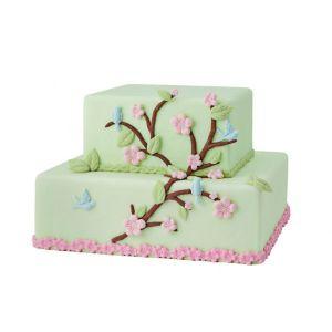 Recette Faire un gâteau en pâte à sucre