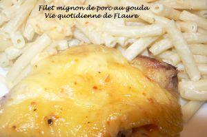 Recette Filet mignon de porc au gouda