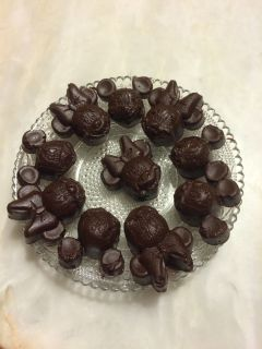 Recette Chocolats Minnie Mouse